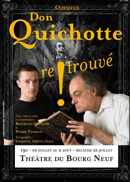 Don Quichotte Retrouvé affiche