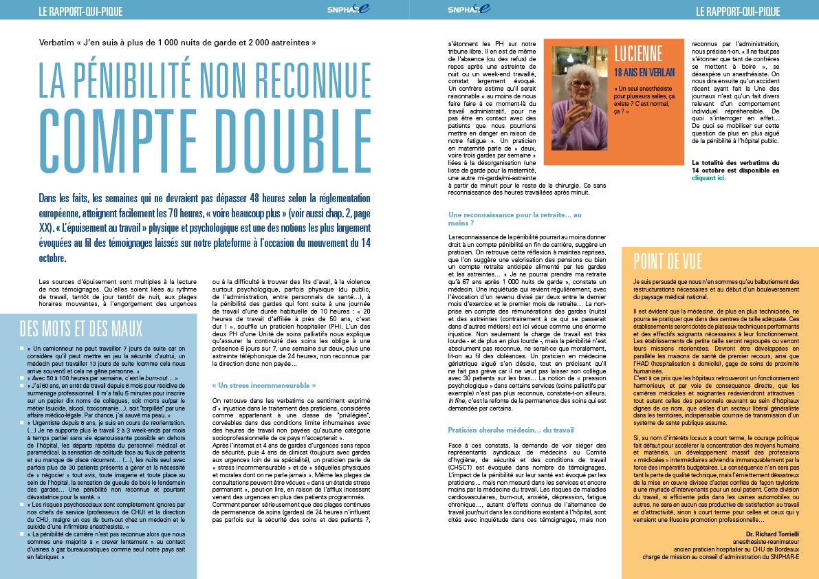 le Rapport Qui Pique pages 14-15