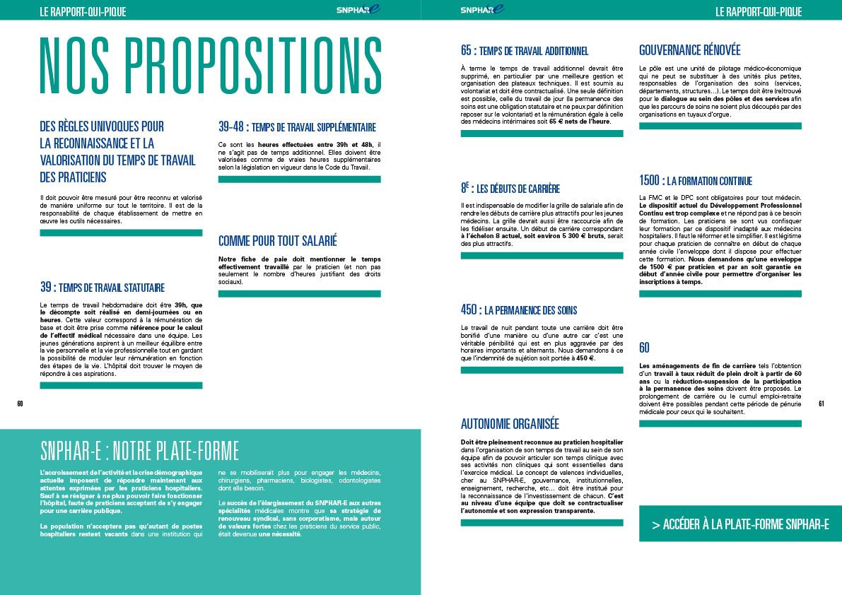 le Rapport Qui Pique pages 60-61
