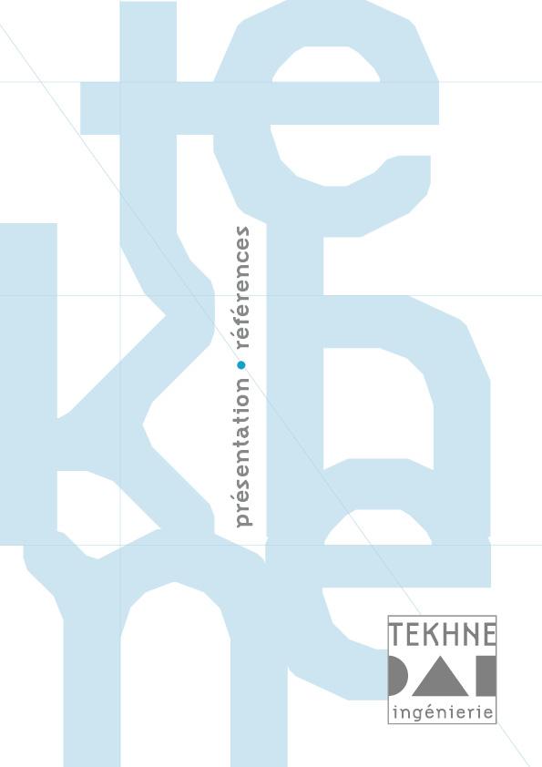 catalogue Tekhne 1ère de couverture
